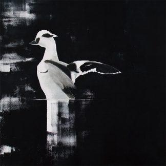 Fåglar i konst på Gotland.